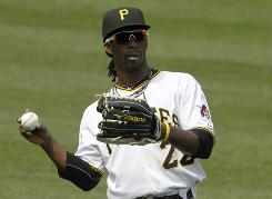 Andrew McCutchen, 23, finished his rookie season batting .286 with 12 homers, 54 RBI and 22 steals in 108 games.